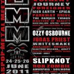 Pagan's Mind confirmati pentru Graspop Metal Meeting 2011