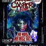 Pregatiri pentru Alice Cooper: sange ca la spitalul de urgenta