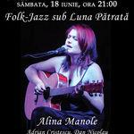 Concert Alina Manole la Clubul Taranului