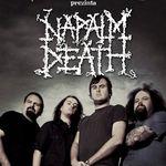 Napalm Death sustin doua concerte in Romania
