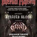 Infernal Majesty vor canta alaturi de solistul Cannibal Corpse