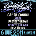 Concert Parkway Drive miercuri in Silver Church