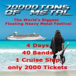 Hammerfall sunt confirmati pentru 70000 Tons Of Metal
