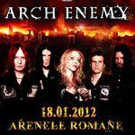 Biletele pentru concertul Arch Enemy la Bucuresti se pun in vanzare