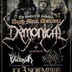 Demonical sustin doua concerte in Romania