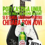 Chitara Fender Bon Jovi, in Romania