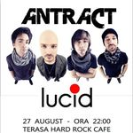 Concert Antract in Hard Rock Cafe Bucuresti