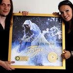 Tarja Turunen a primit discul de aur in Germania