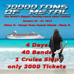 Virgin Steele confirmati pentru 70000 Tons Of Metal 2012