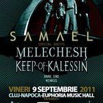 Programul concertului Samael la Cluj-Napoca