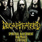 Spot video pentru concertele Decapitated in Romania