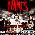Promo pentru concertul In Flames in Romania