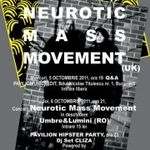 Concert Neurotic Mass Movement in club Control Bucuresti