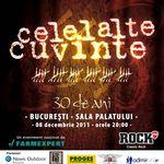 Concert aniversar Celelalte Cuvinte la Bucuresti