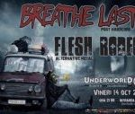 Concert Breathelast si Flesh Rodeo in Underworld Bucuresti