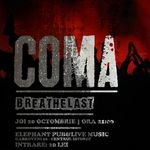 Concert Coma si Breathelast in Elephant Pub Bucuresti