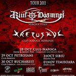 Turneu Riul Doamnei si Krepuskul in Romania