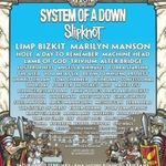 System Of A Down si Slipknot confirmati pentru Soundwave 2012