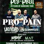 Pro-Pain sustin trei concerte de lansare CD/DVD in Romania