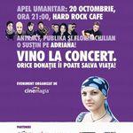 Concert umanitar Florin Chilian si Antract la Hard Rock Cafe