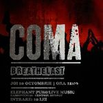 Concert Coma joi seara in Bucuresti