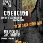Concert de lansare album Coercion in Elephant Pub