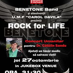 Concert umanitar 'Rock for life' joi in Jukebox Venue