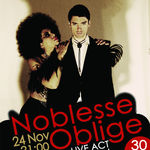 Concert Noblesse Oblige in Wings Club din Bucuresti