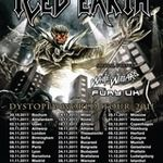 Noi filmari din turneul european Iced Earth