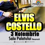 Elvis Costello va canta 'She' la Sala Palatului