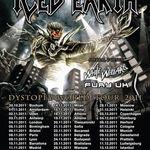Urmariti integral concertul Iced Earth sustinut in Olanda