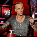 Noi filmari cu Nergal la 'The Voice Of Poland' (video)