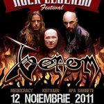 Concert Venom sambata la Arenele Romane din Bucuresti