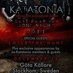 Katatonia vor sustine un concert special alaturi de fosti membri ai trupei