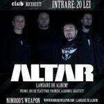 Altar lanseaza noul album in decembrie la Fabrica