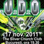 Concert U.D.O. joi in Silver Church din Bucuresti