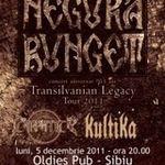 Negura Bunget anuleaza concertul de luni din Sibiu