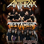 Anthrax, Testament si Death Angel continua turneul american in 2012