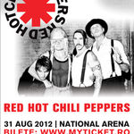 Concert Red Hot Chili Peppers in Romania pe Stadionul National (oficial)
