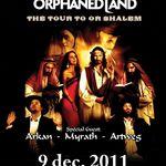 Orphaned Land: Reguli de acces si programul concertului