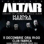 Concert de lansare album Altar duminica in Fabrica