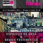 Expozitie de Arte si Design Vestimentar in club Fabrica