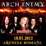 A mai ramas o luna pana la concertul Arch Enemy in Romania