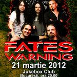 Concert Fates Warning in martie la Bucuresti!