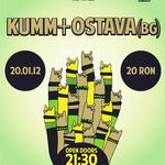 Concert Kumm si Ostava in Club Control Bucuresti