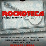 Rockoteca (proiectie The Big 4 & afterparty) in The Rock Iasi