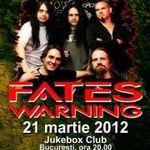 Ultimele bilete speciale pentru concertul Fates Warning
