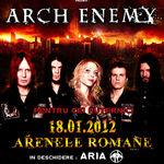Reguli de acces pentru concertul Arch Enemy din Bucuresti