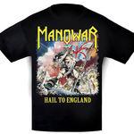 Serie de articole vestimentare Manowar cu grafica Hail to England
