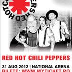 Bilete VIP pentru concertul Red Hot Chili Peppers la Bucuresti